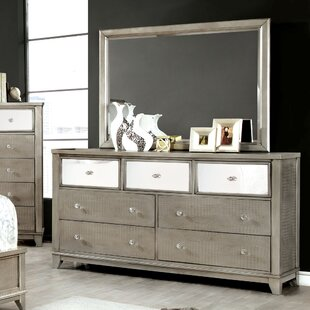Rogers 7 Drawer Dresser with Mirror