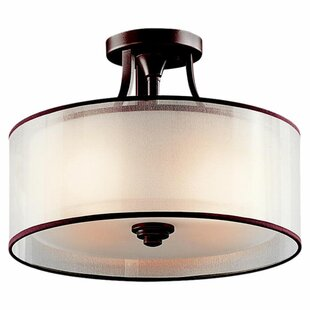 Darby Home Co Boswell 3-Light Semi Flush Mount