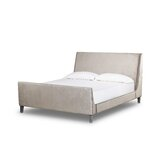 Mansfield Upholstered Sleigh Bed by Sonder Living
