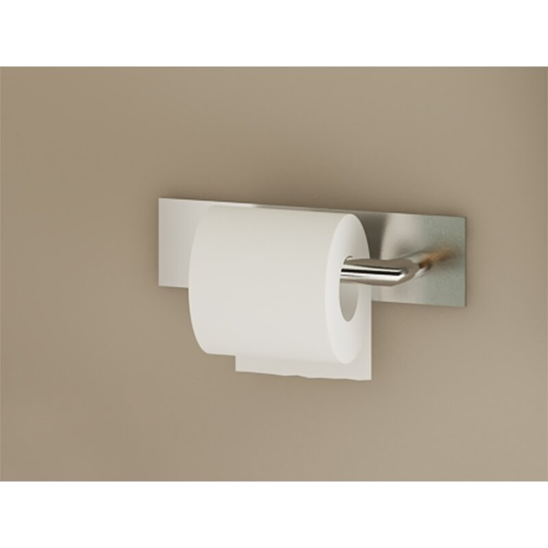 Ginger Surface Left Open Single Wall Mount Toilet Paper Holder Perigold