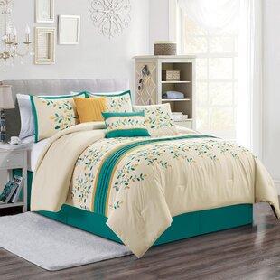 Hodapp Embroidery Comforter Set by Red Barrel Studio