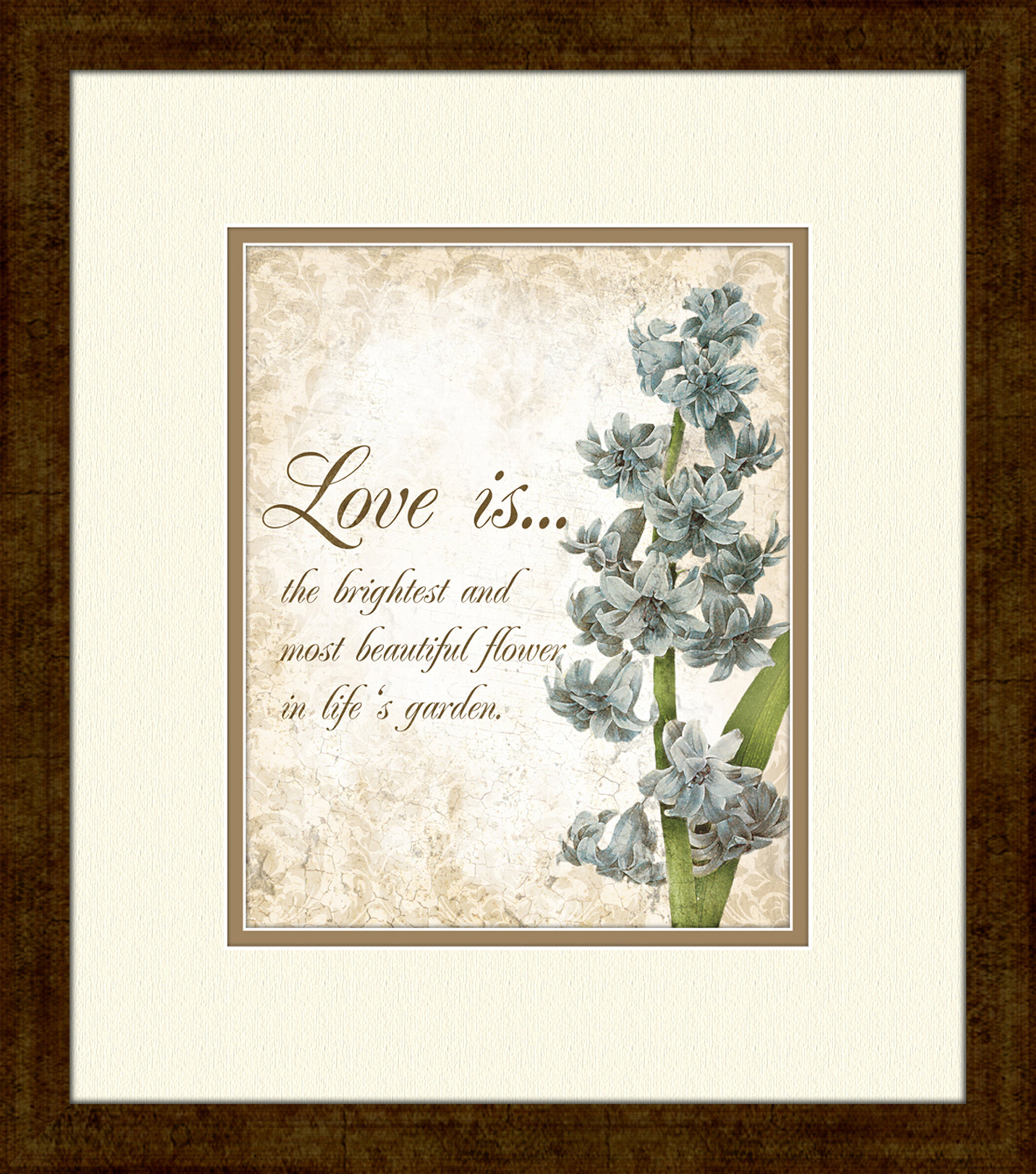 Ptm Images Love Is B Picture Frame Graphic Art Print On Paper Wayfair