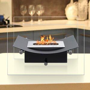 Verona Ventless Bio-Ethanol Tabletop Fireplace