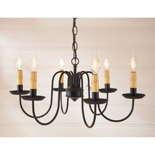 Gracie Oaks Weaver 6-Light Chandelier