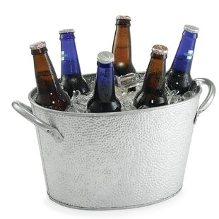 Galvanized 224 Oz. Beverage Tub