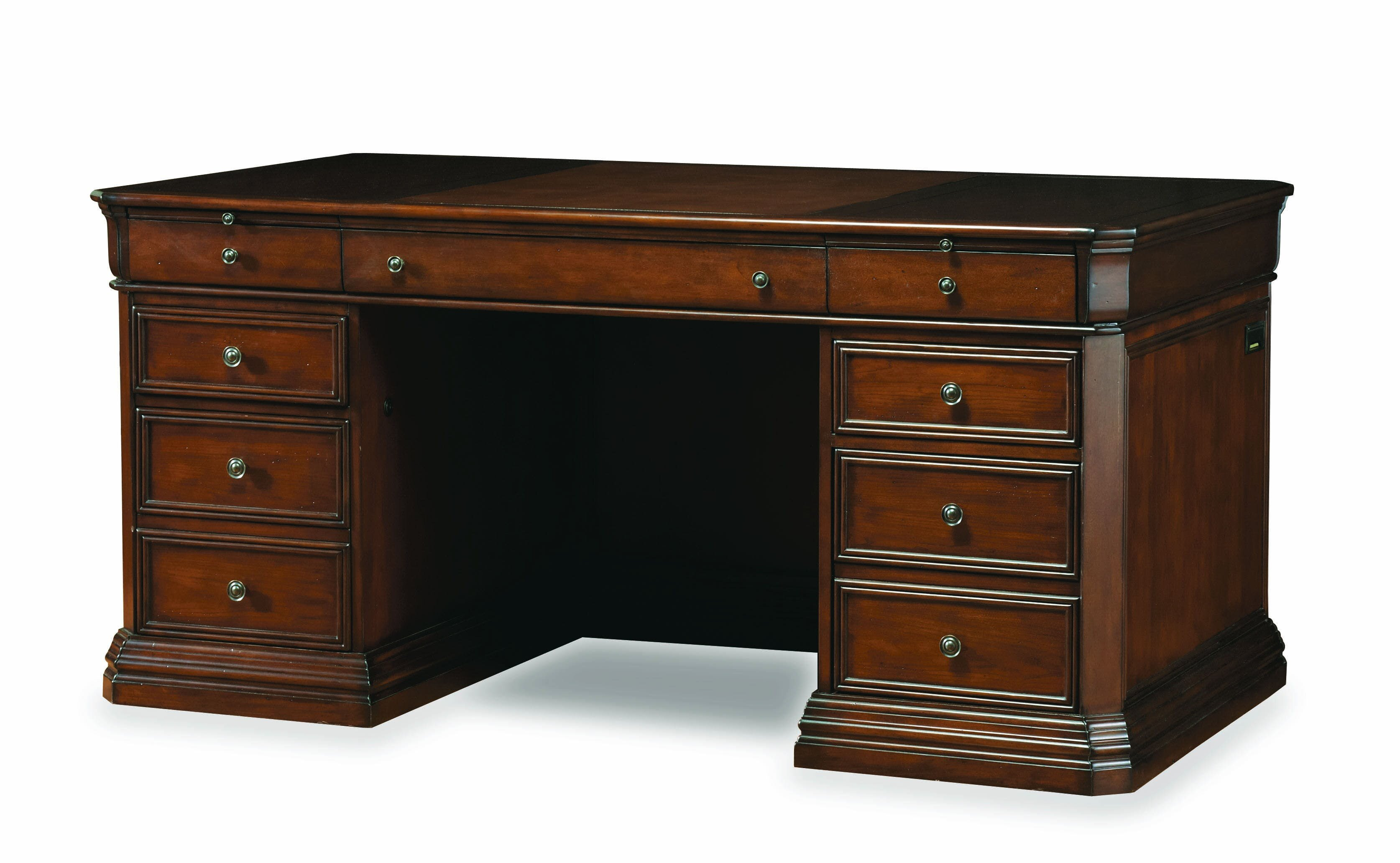 Hooker Furniture Cherry Creek Executive Desk & Reviews | Wayfair