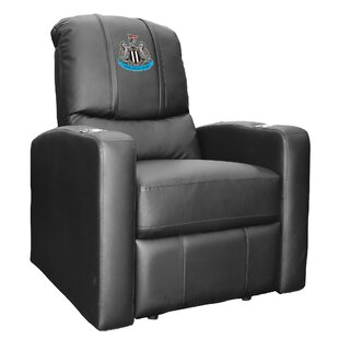 Newcastle United Primary Logo Stealth Manual Wall Hugger Recliner