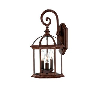 Darby Home Co Grenville 3-Light Outdoor Wall Lantern