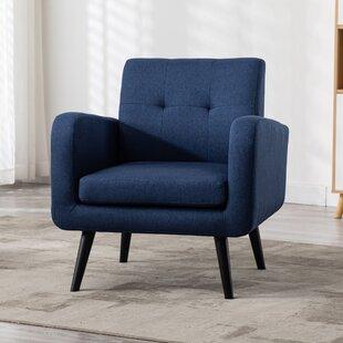 Armory Fabric Armchair by Corrigan Studio
