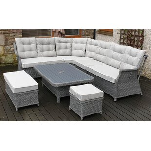 Lonan 5 Seater Rattan Corner Sofa Set By Sol 72 Outdoor