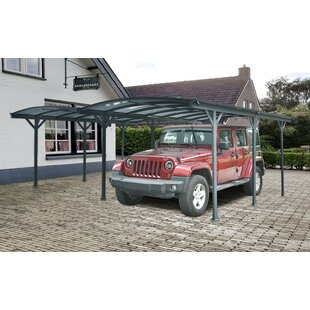 Aurigae Double Aluminium Carport W 6 X D 5m Patio Awning By Sol 72 Outdoor