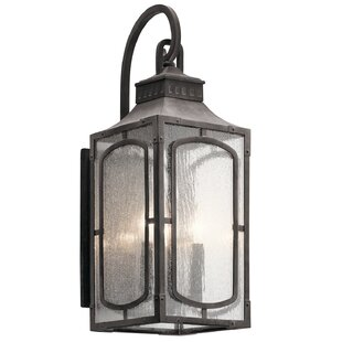 Darby Home Co Salena 3-Light Outdoor Wall Lantern