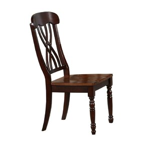 Corell Park Solid Wood Dining Chair (Set of 2) by Alcott Hill