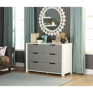 Claiborne 6 Drawer Double Dresser by Isabelle & Max