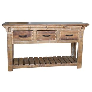 Robson Console Table with 3 Drawer ByLoon Peak