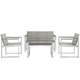 Embark 4 Piece Sofa Set by Modway
