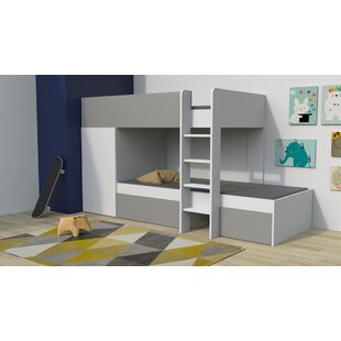 Carney 90 X 190cm Bunk Bed With Furniture Set By Isabelle & Max