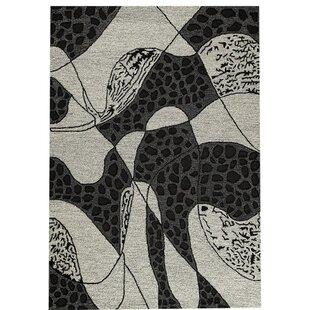 Best Price Riddle Hand-Tufted White Area Rug ByHokku Designs