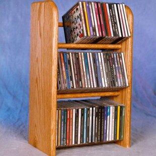 300 Series 78 CD Dowel Multimedia Tabletop Storage Rack