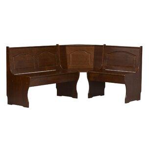 Patty Solid Wood Corner Bench ..