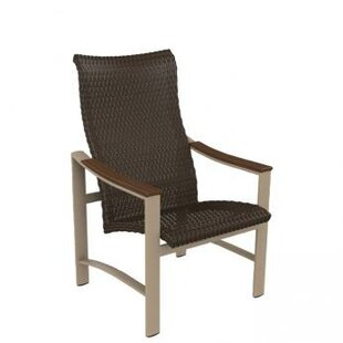Brazo Woven High Back Patio Dining Chair