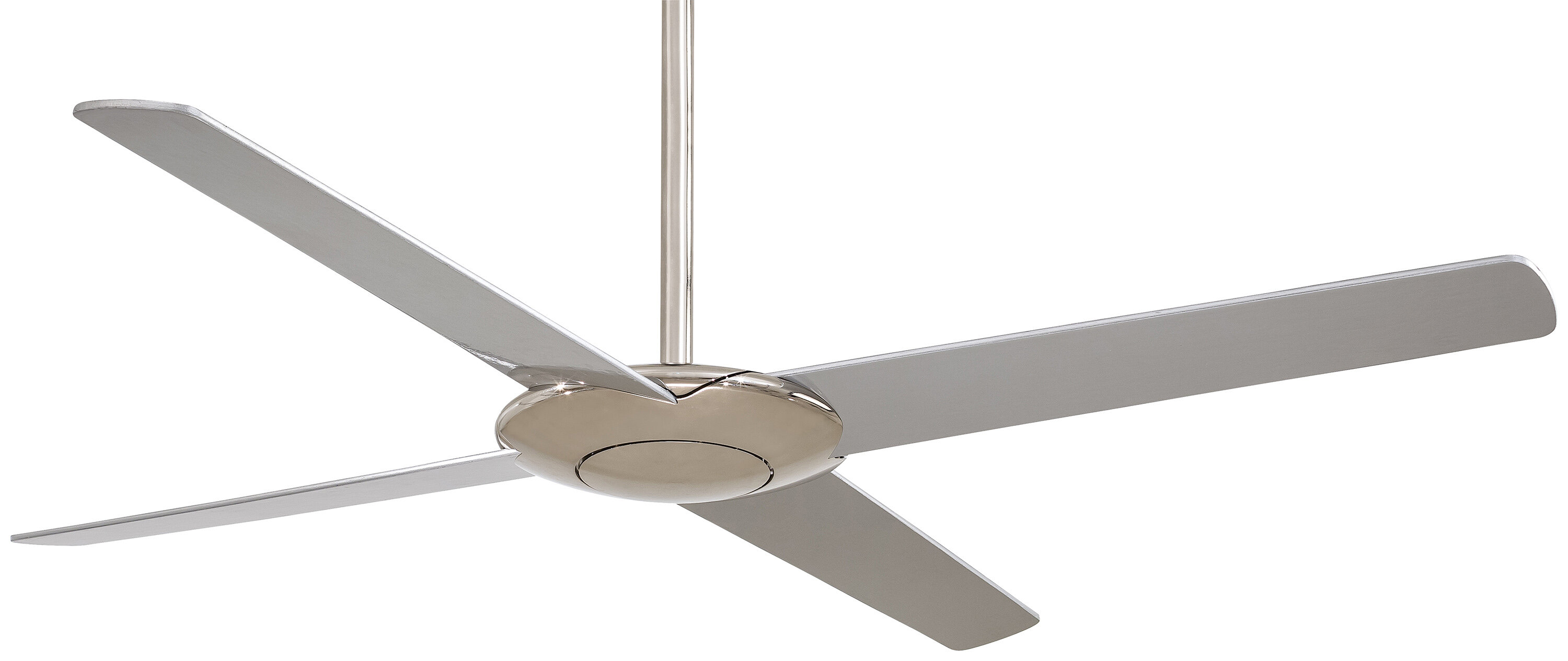 Pancake 4 Blade Ceiling Fan With Remote
