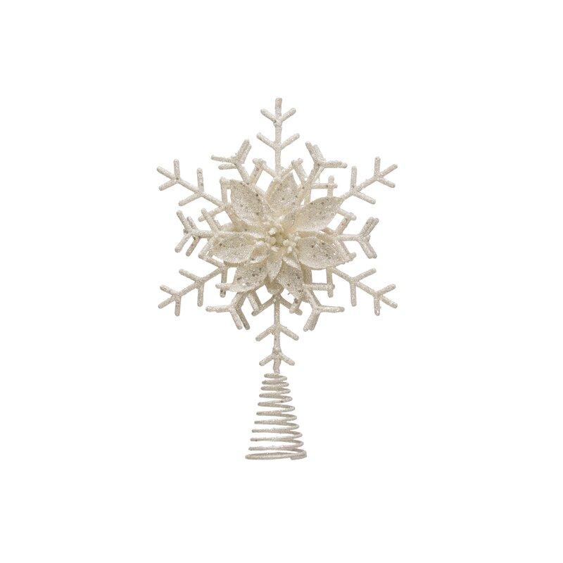 The Holiday Aisle Snowflake Tree Topper Reviews Wayfair