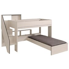Gravity Twin Over Twin L-Shaped Bunk Bed by Parisot