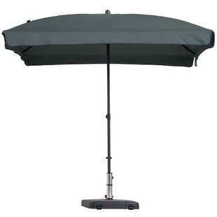 Yahir 1.4m X 2.1m Rectangle Traditional Parasol By Freeport Park