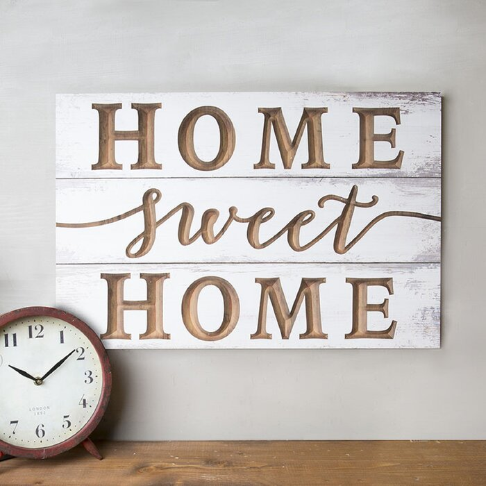 Home Sweet Home Wall Decor.Home Sweet Home Back Wall Decor