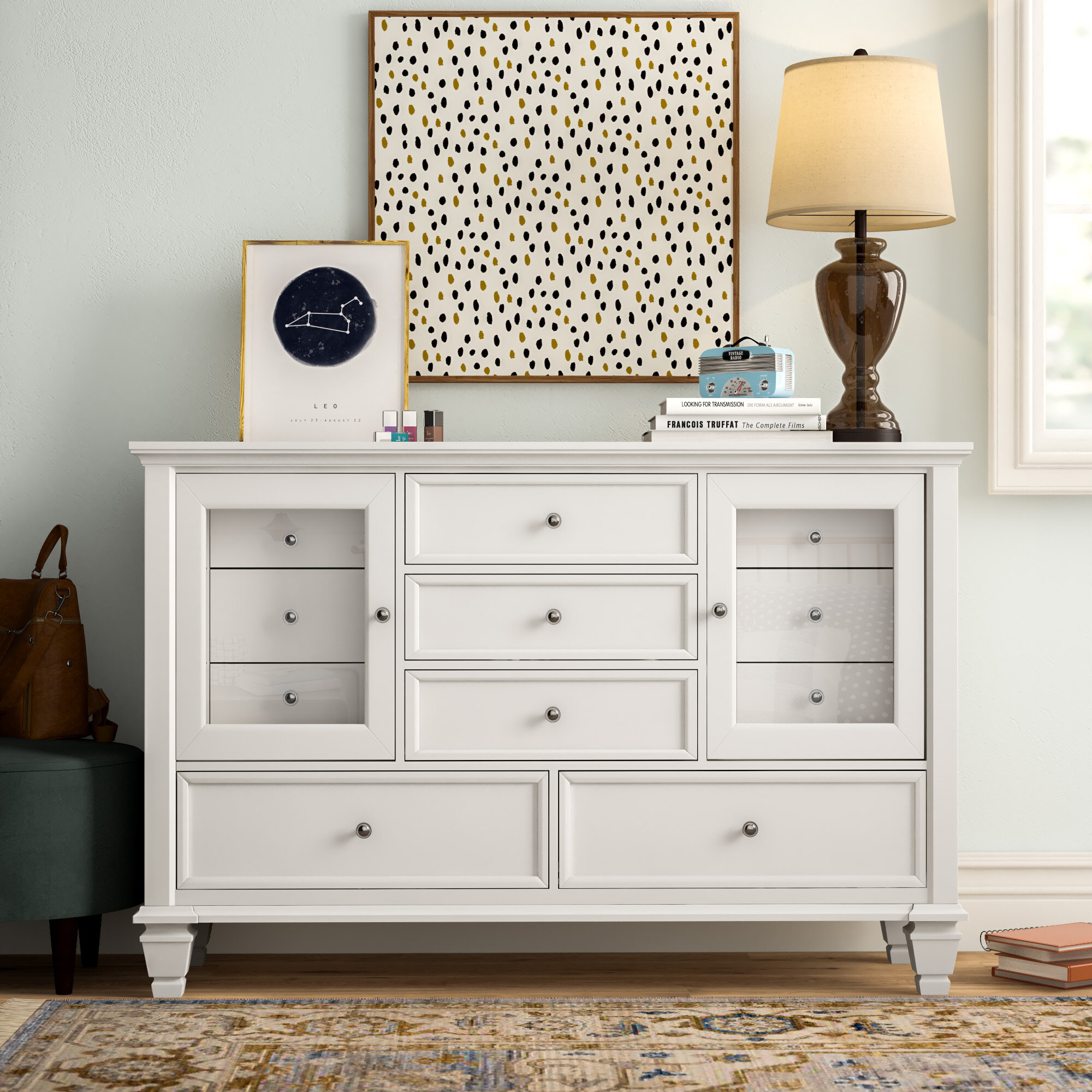 Three Posts Teen Magness 11 Drawer Combo Dresser Reviews Wayfair Ca