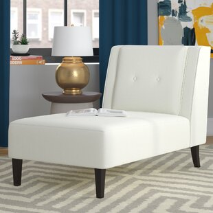 Bargain Acubens Chaise Lounge by Brayden Studio Reviews (2019) & Buyer's Guide