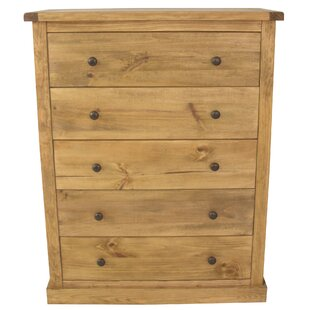 5 Drawer Chest Of Drawers By Natur Pur