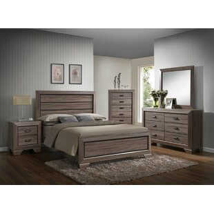 Westman Panel 4 Piece Bedroom Set