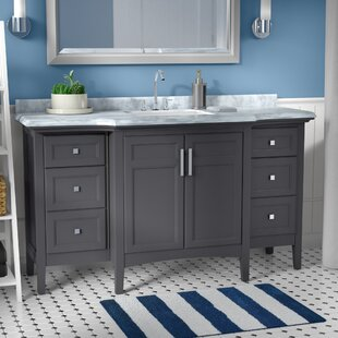 Save Zipcode Design Lebanon 60 Single Bathroom Vanity Set