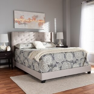 Anner Upholstered Panel Bed