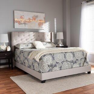 Anner Upholstered Panel Bed