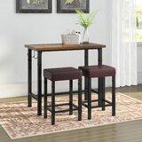 Knapp 3 Piece Pub Table Set by Trent Austin Design®