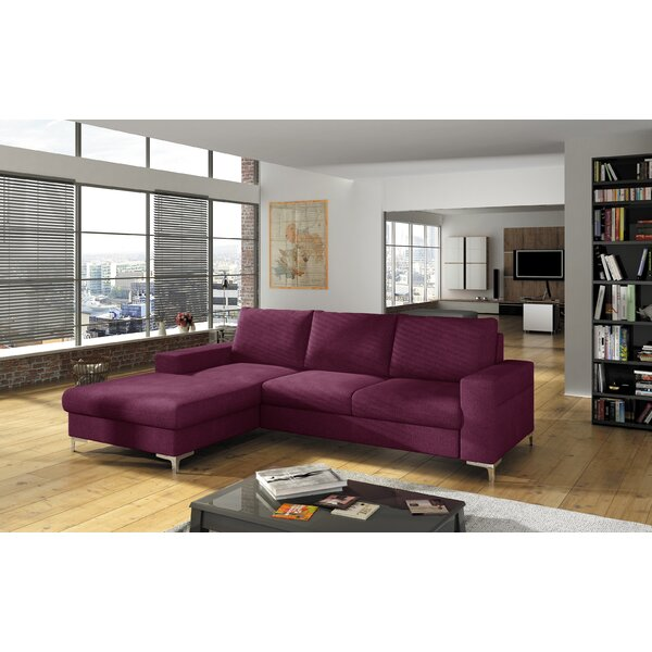 Brayden Studio Beachwood Sleeper Sectional Wayfair