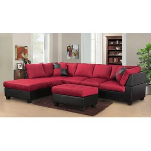 Barter Reversible Sectional With Ottoman by Ebern Designs Best Choices