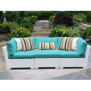 Monaco Patio Sofa with Cushions