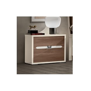 Redondo Modern Style 2 Drawer Nightstand by Brayden Studio