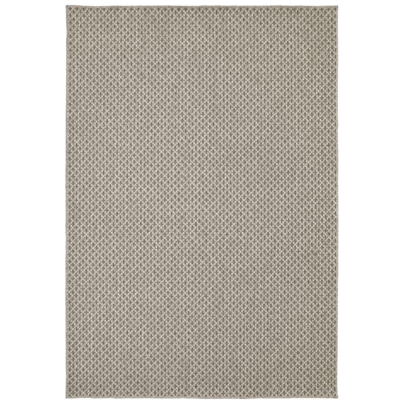 Tommy Bahama Home Boucle Geometric Wool Gray Area Rug Wayfair