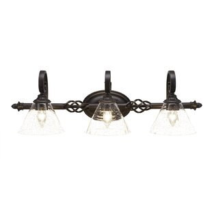 Astoria Grand Bodnar 3-Light Vanity Light