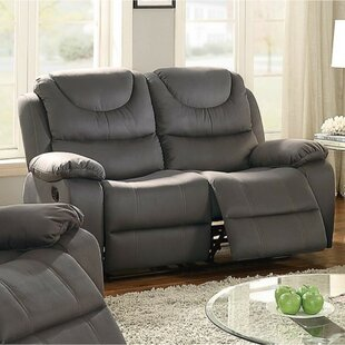 Paramus Breathable Reclining Loveseat