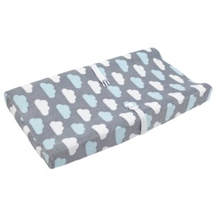 Bargain Tata Little Clouds Changing Pad Cover ByHarriet Bee
