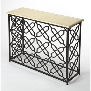 """Marionville 43"""" Console Table by Bungalow Rose SKU:DD244220 Reviews"""