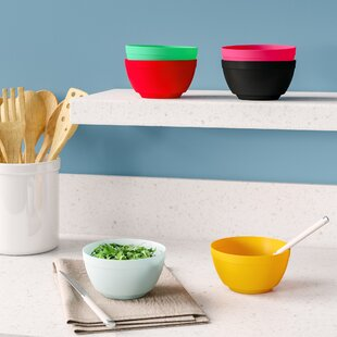 Elem 17 Oz. Unbreakable Melamine Dining Bowl (Set Of 6) by Ebern Designs Great price