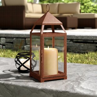 Large Contemporary Iron Lantern