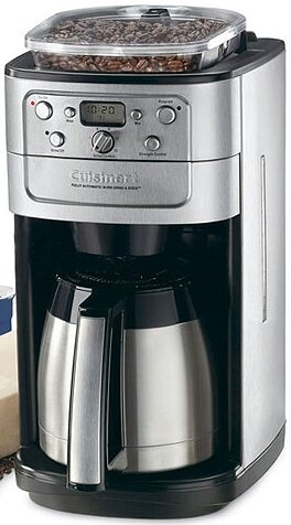 Cuisinart 12 Cup Grind And Brew Thermal Coffee Maker Reviews Wayfair